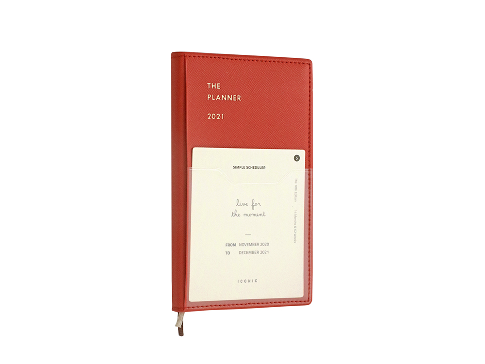 Iconic - The Planner S - Vermillion