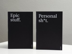 libretas epic stuff personal shit octagon design